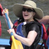 Rebecca rafting on 07-30-12