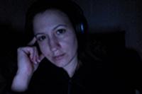 Rebecca De La Torre - singer-songwriter-pianist on 1-15-13 at 10.46 PM