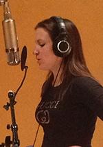 Rebecca De La Torre Vocal tracking - Nashville RCA Studio A