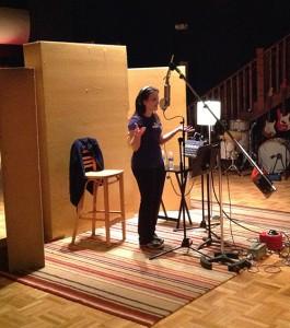 Rebecca De La Torre in Nashville, Vocal overdubs