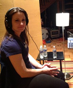 Rebecca De La Torre in Nashville, Vocal overdubs