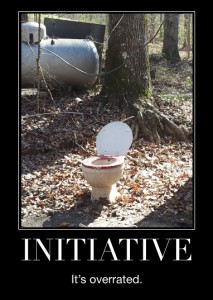 Initiative - It's overrated