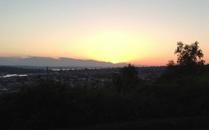 Sunset in Fremont