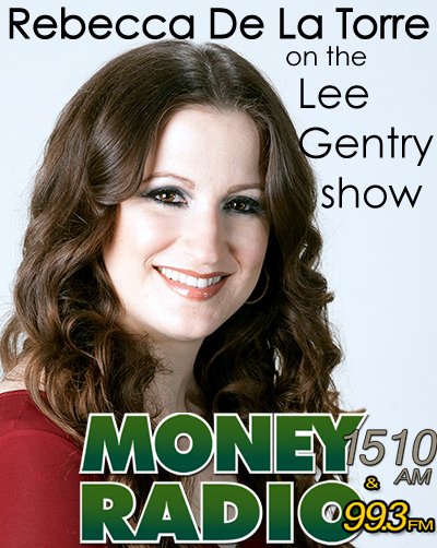 Rebecca De La Torre on the Lee Gentry Show