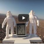 We sent a 3D sculpture into space!