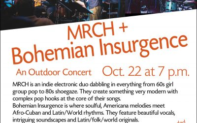 Upcoming Concerts with Bohemian Insurgence